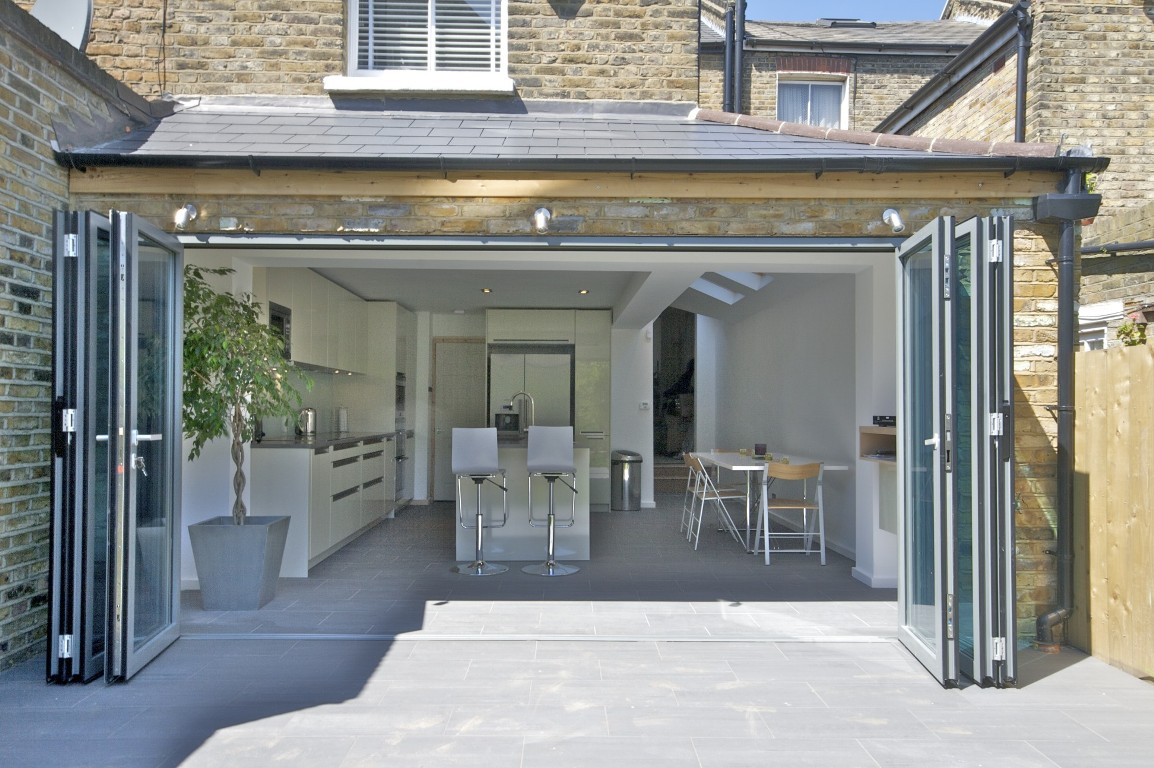 Basement Layout Planner Wrap Around Extension With Bi Fold Doors The Art Of Building