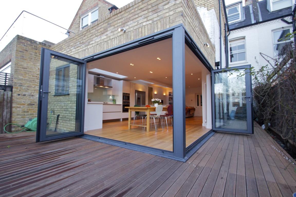 Wrap Around Bi-Fold Doors & Wrap Around Bi-Fold Doors   The Art of Building