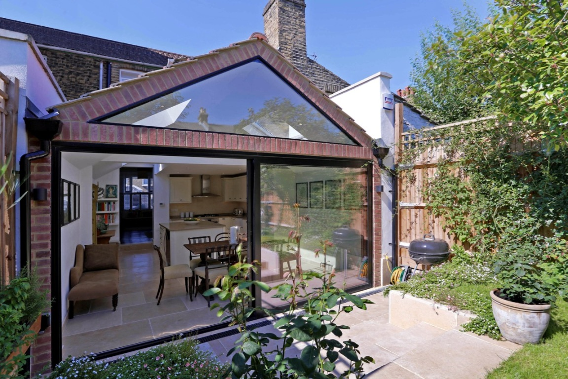 Wrap Around Extension With Gable Roof The Art Of Building
