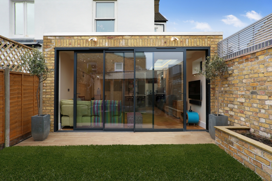flat roof wrap around extension the art of building. Black Bedroom Furniture Sets. Home Design Ideas